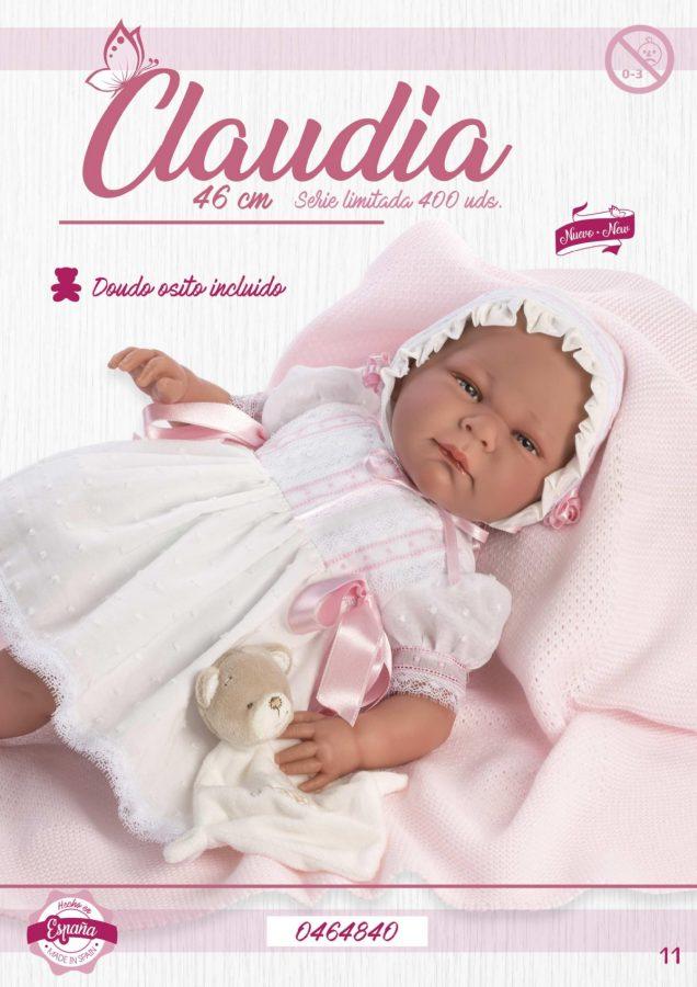 Muñeca reborn Claudia serie limitada