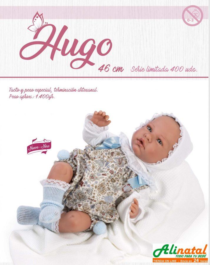 Novedad Hugo muñeco serie limitada de la marca Así.