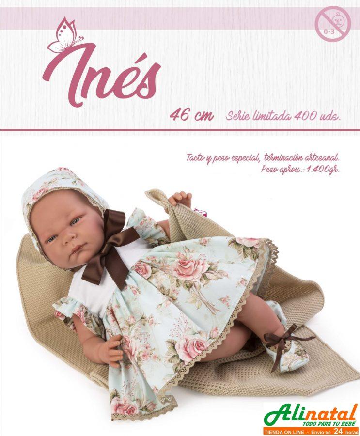 Nueva muñeca reborn serie limitada Asi Inés