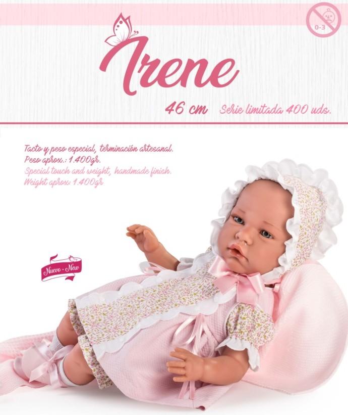 Muñeca reborn Irene serie limitada Así