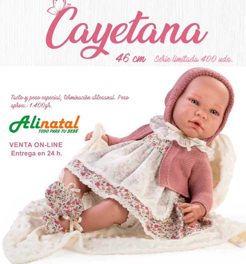 muñeca cayetana serie limitada