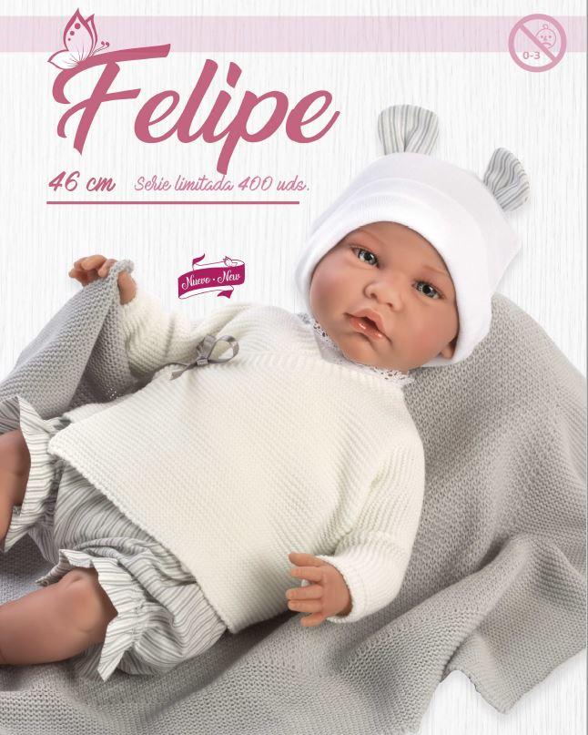 Muñeco Felipe serie limitada