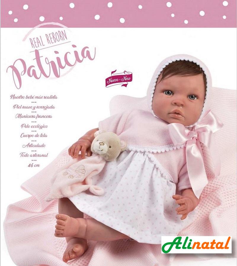 Muñeca reborn Patricia Así