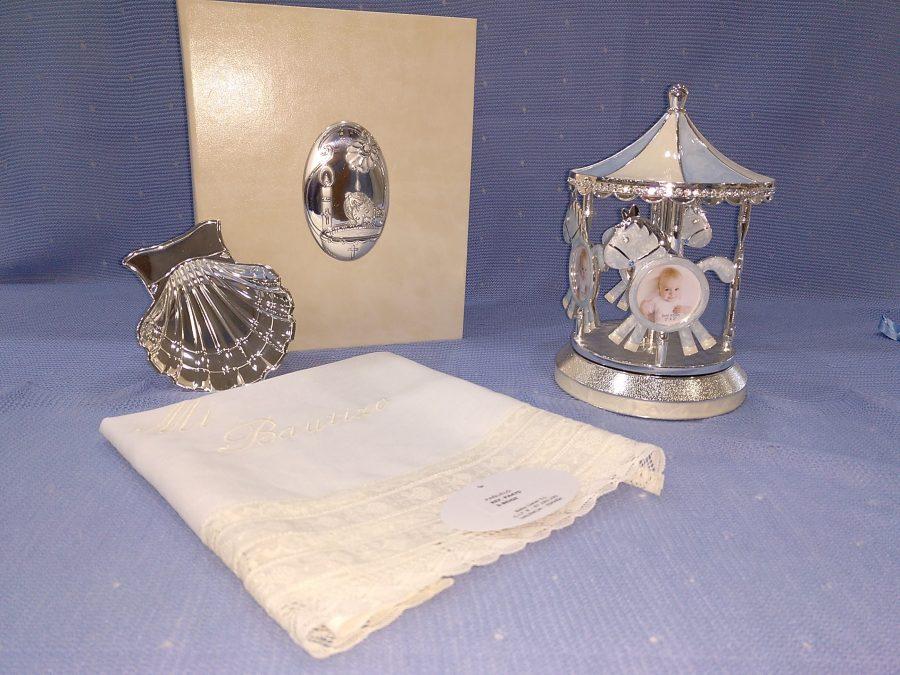 accesorios de bautizo